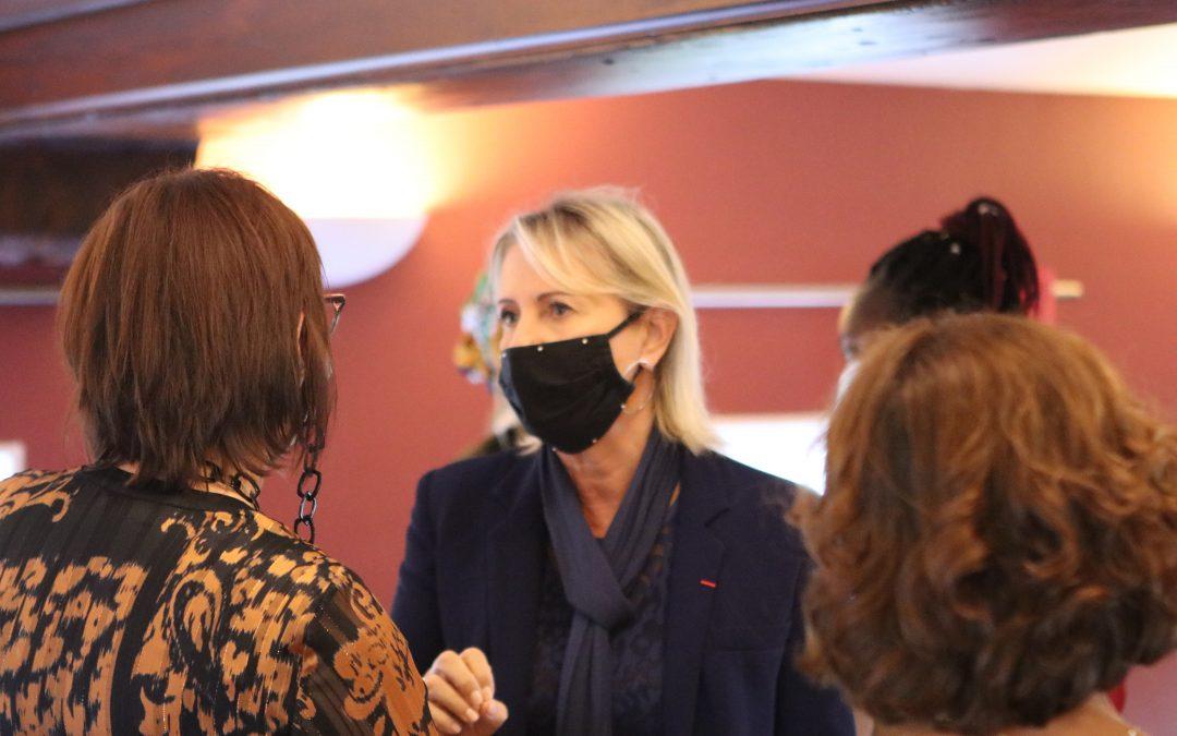 Nathalie Chaize, une grande dame de la couture.